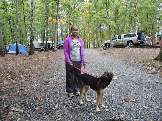 Dogs are a part of the family and they love to go camping at Virginia State Parks