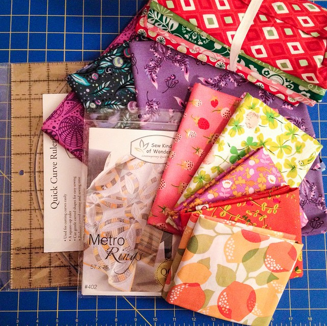 Quilt show loot!