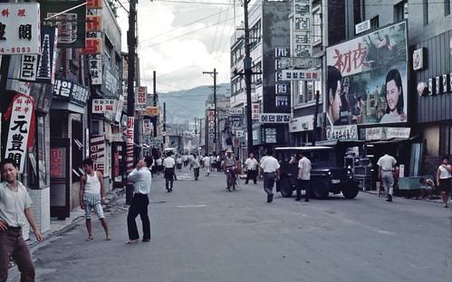 Seoul 서울 1968-08-08 종로삼가 鍾路三街 – 68D08-0729