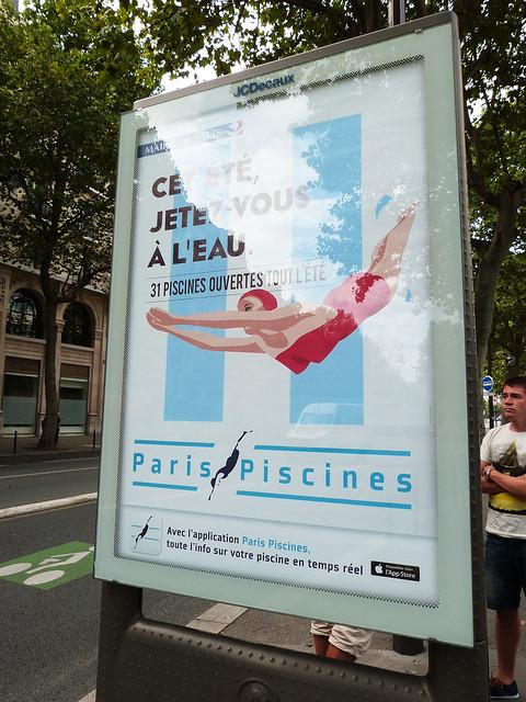 piscines de Paris