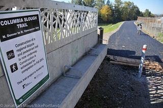 New section of Columbia Slough path-3