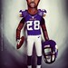 Small photo of Adrian Peterson / Premium Art doll