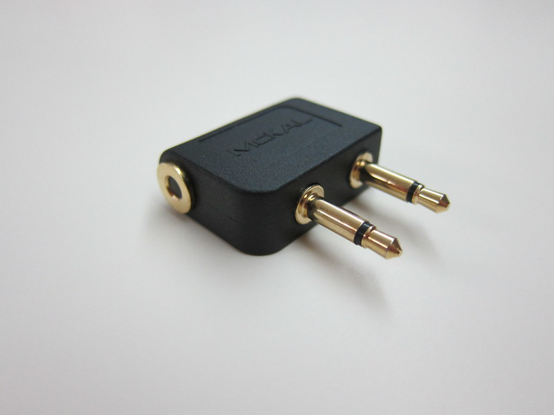McKAL Airplane Audio Adapter