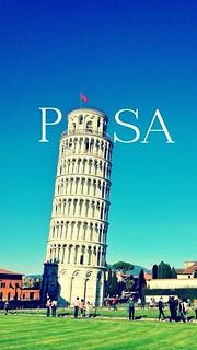 Obrázek Šikmá věž v Pise u Pisa. italy tower florence europe over pisa leaning leaningtowerofpisa 2013 madewithover