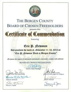 Newman Week Bergen County