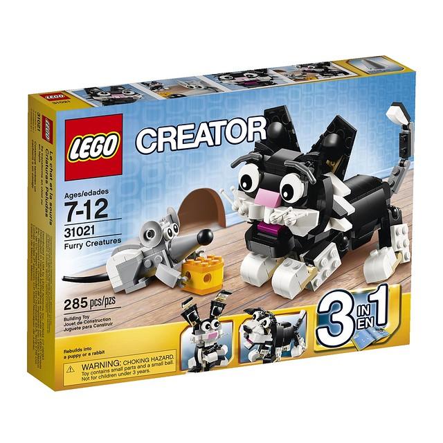 LEGO Creator 31021 - Furry Creatures