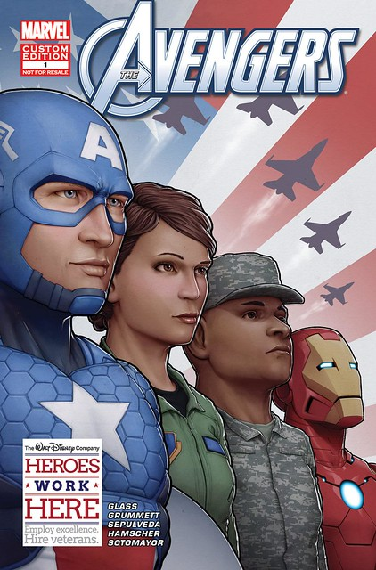 The Exclusive Avengers Comic Specifically Designed for Disneys Veterans 