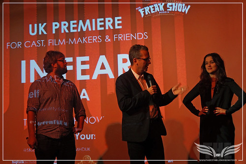 The Establishing Shot: IN FEAR PREMIERE - JAMIE GRAHAM & DIRECTOR JEREMY LOVERING INTRODUCES STAR ALICE ENGLERT @ THE ICA PRESENTED BY STELLA ARTOIS by Craig Grobler