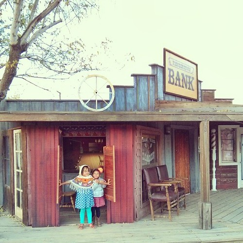Saloon girls.