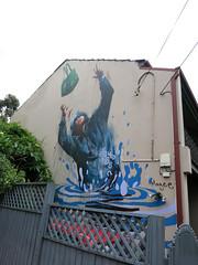 Newtown Mural by Fintan Magee