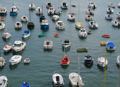 No shortage of boats
