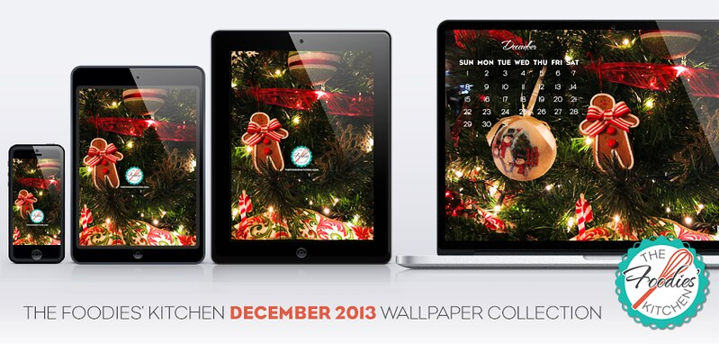 Foodies Freebie: December 2013 Wallpaper Collection - Draft