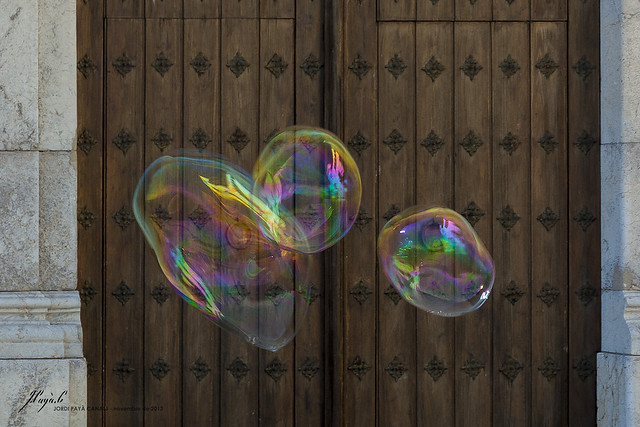 soap bubbles