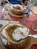 Soup in bread, Prague