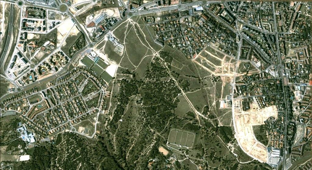 majadahonda, madrid, entramos ahora en la zona rica de manhattan, que bien podría ser la zona páler pero en fin, antes, urbanismo, planeamiento, urbano, desastre, urbanístico, construcción