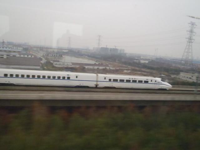 知到不知到 2個的高鉄 from上海to南京 - naniyuutorimannen - 您说什么!