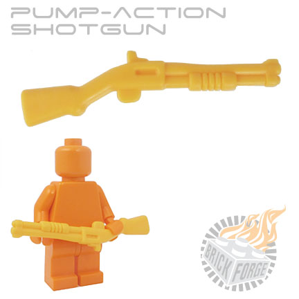 Pump-Action Shotgun - Bright Light Orange