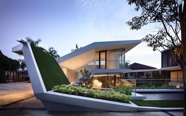 11557486864 b3187e0849 z Thiết kế ngôi nhà trên đường Andrew/ Hãng a dlab