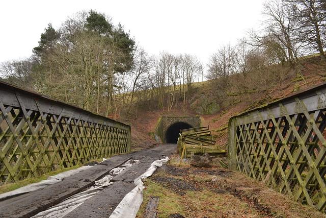 Bowshank Tunnel North Portal and bridge