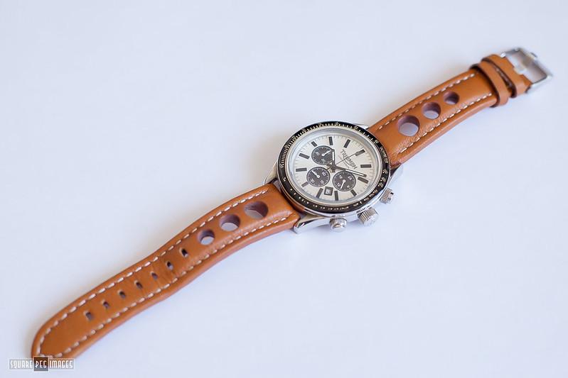 new arrival - triumph panda quartz chronograph