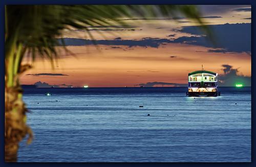 travel blue light sunset sea sky sun seascape color beach water backlight clouds thailand boats island sand nikon wideangle adventure thai nikkor ultrawide hdr 70200mmf4 d7100
