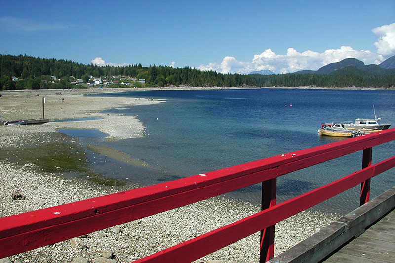 Squirrel Cove, Cortes Island, Discovery Islands, British Columbia, Canada