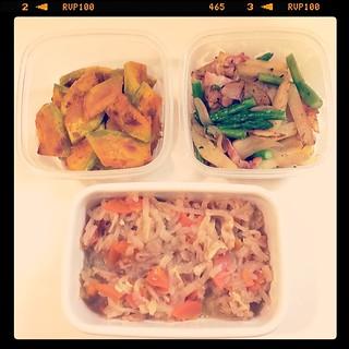 今週の常備菜。
