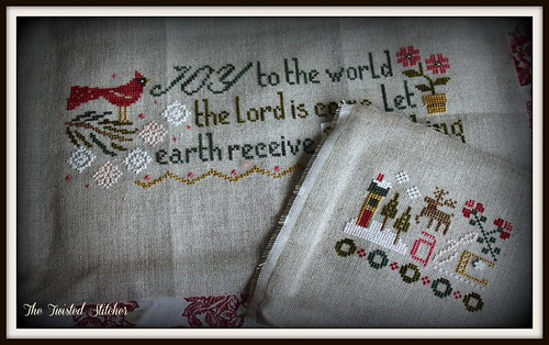 Joy to the World and bonus pattern by Lizzie Kate