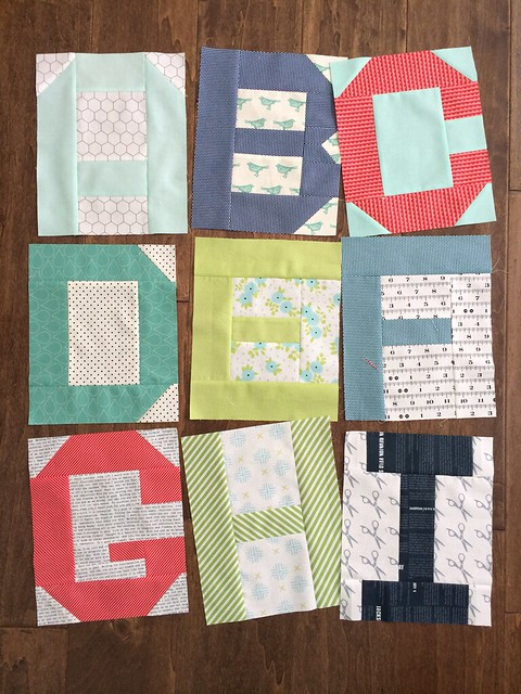 Moda alphabet blocks