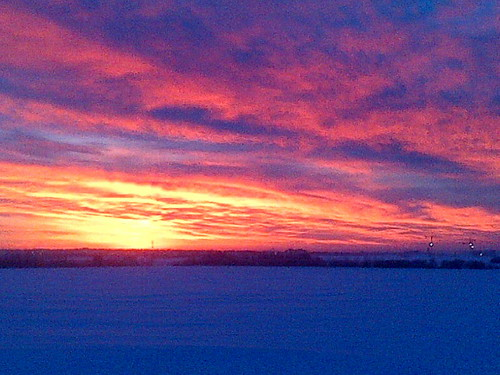 winter sky canada nature clouds sunrise outside horizon alberta colourful peacecountry