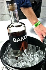 Bakon - bacon flavored vodka.