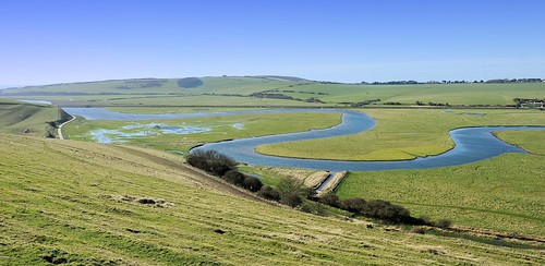 nature river landscape sussex naturereserve valley southdowns cuckmere cuckmerehaven