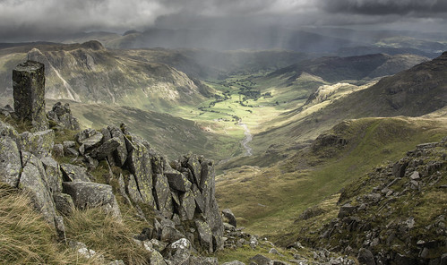 From Crinkle Crags