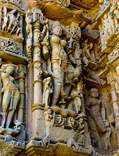 Voluptuous Apsara, Modhera, Gujarat, India