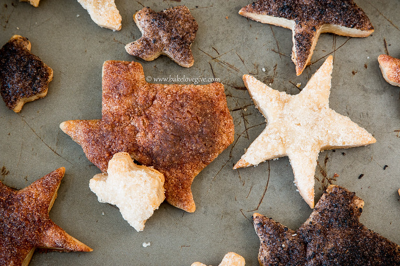 Texas Pie Crust Cookies