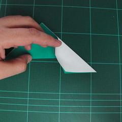 การพับกระดาษเป็นรูปเรือมังกร (Origami Dragon Boat) 015