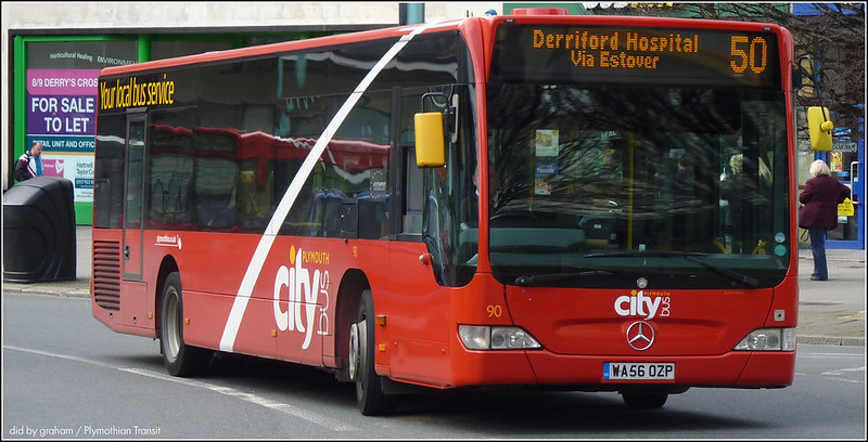 Plymouth Citybus 090