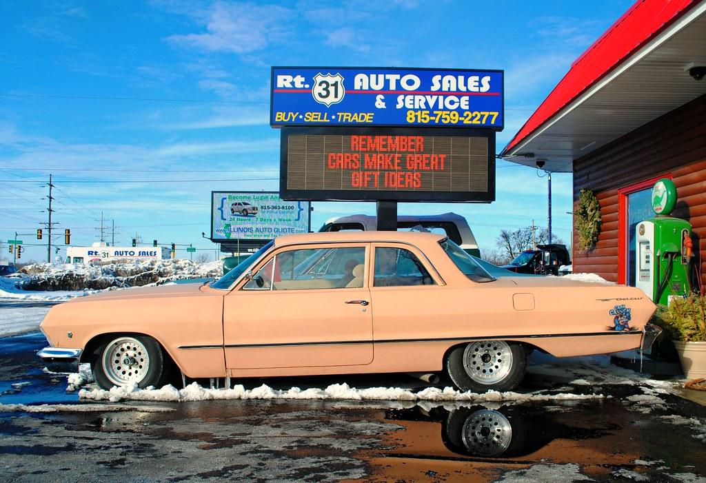 Rt 31 Auto Sales >> 1963 Chevy Bel Air Mchenry Illinois Cragin Spring Flickr