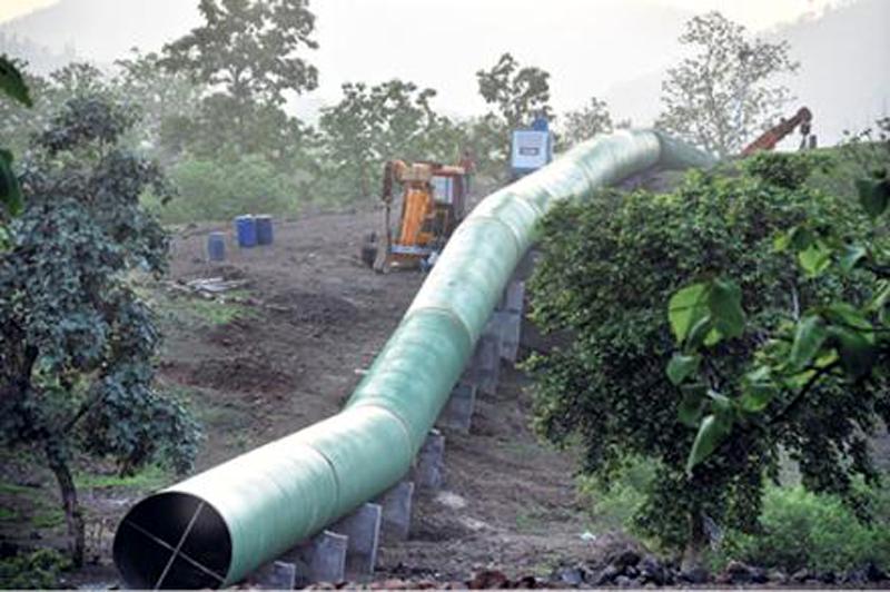 नर्मदा-क्षिप्रा पाइप लाइन नदी जोड़ परियोनजा