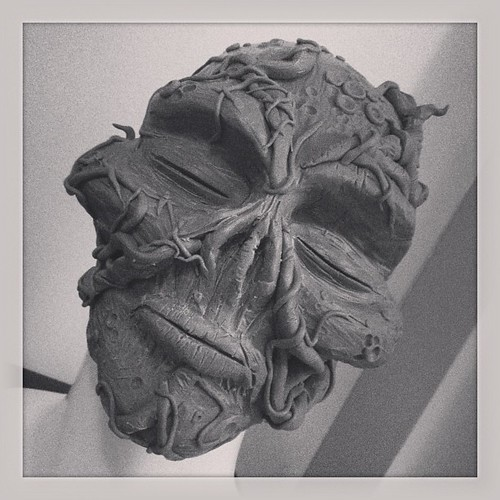 Messing around clay scribbles. #swampthing #monsterclay #umetoys by [rich]