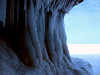 Apostle Islands Ice Caves by epilektric