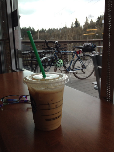 Errandonnee 10 and 11, sporting event (go Timbers!) and coffee 14.6 miles