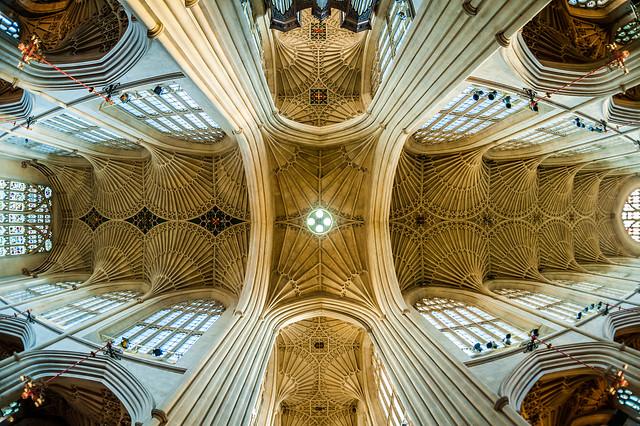 Bath Abbey (ceiling, fan vault)