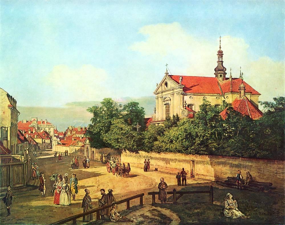 十八世纪华沙风景画9