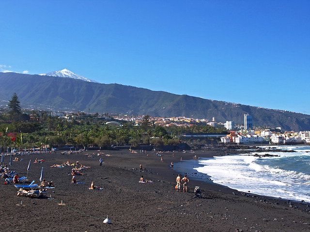 Our top ten favourite beaches on tenerife for Playa jardin tenerife