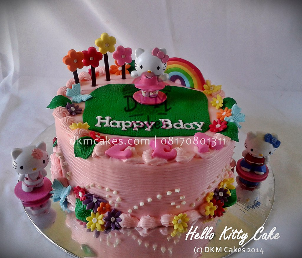 Hello Kitty Cake Amel Dkm Cakes Nina Septiningtyas Flickr