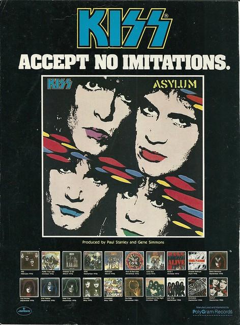 "Kiss ""Asylum"" (Released: 09/16/85)"