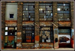 Facade: Aluminum and Architectural Metals Building, 1974 Franklin Street--Detroit MI