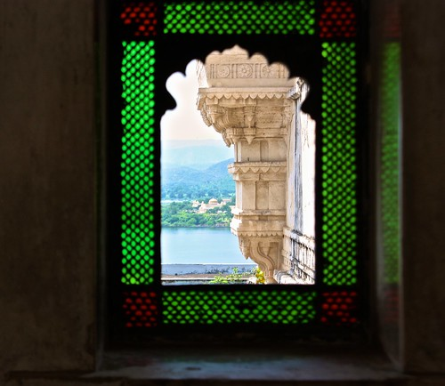 Udaipur stained glass