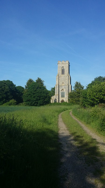 Hickling church #sh
